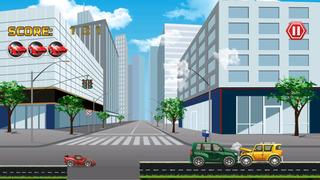 Big Auto Racing vs Grand Traffic screenshot 2