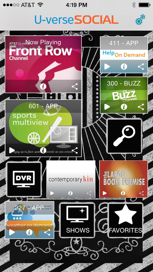 U-verse Social screenshot 1