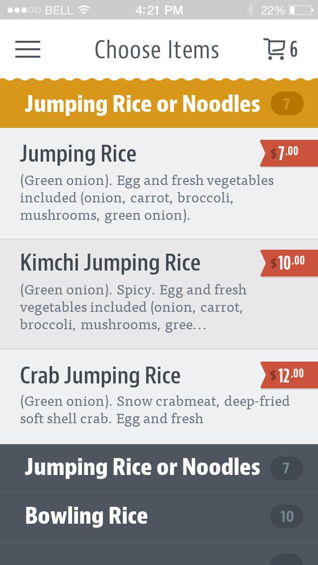 Jumping Rice & Rolls screenshot 3
