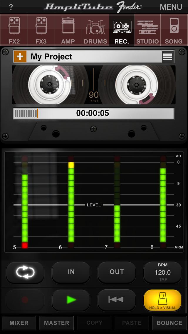 AmpliTube Fender™ screenshot 4