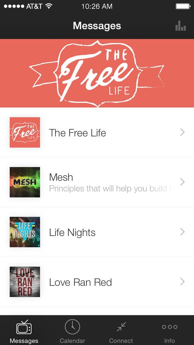 Home Church Official App screenshot 1