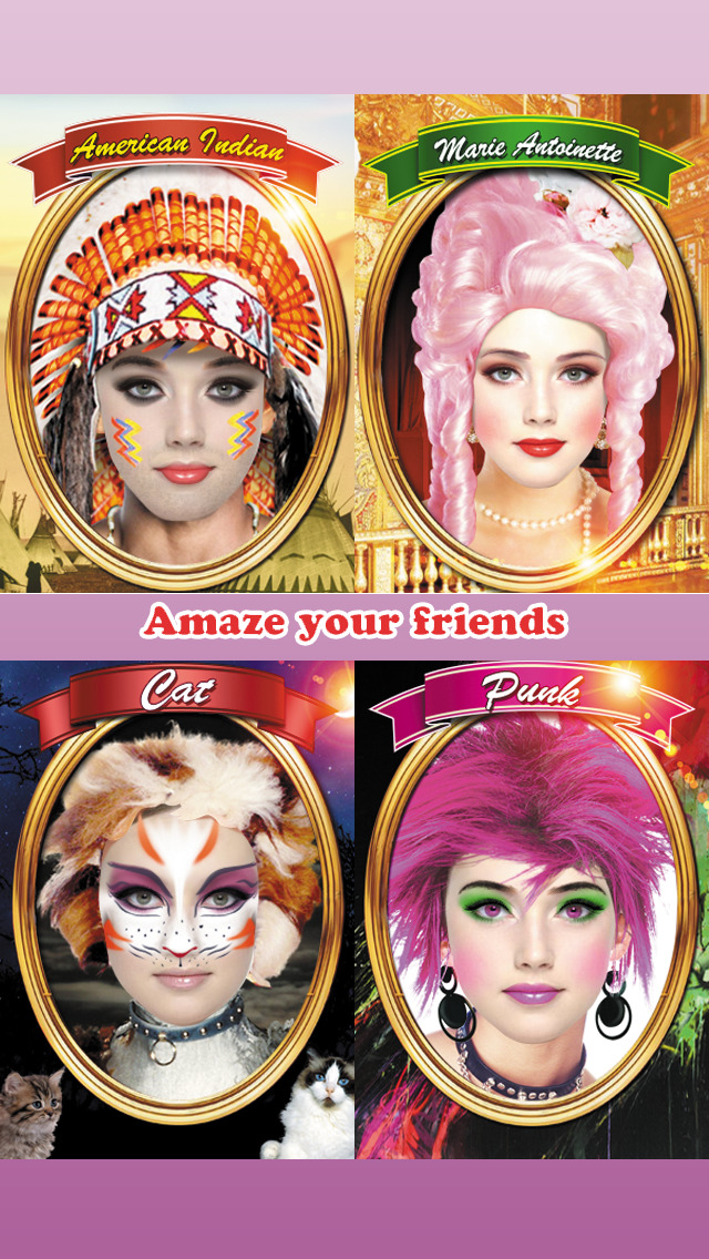 Role Play Free - Makeup Makeover Photo Booth screenshot 4
