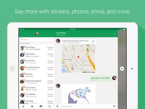 Hangouts screenshot 7