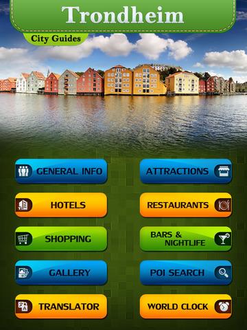 Trondheim Offline Travel Guide screenshot 7