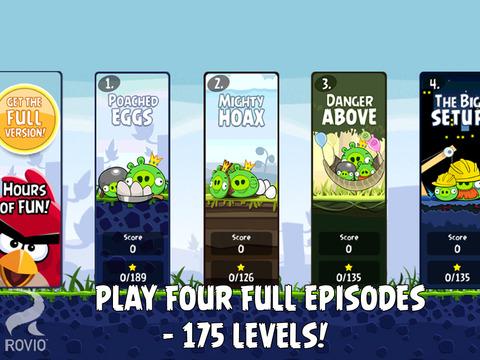 Angry Birds HD Free screenshot 2