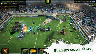 FootLOL: Crazy Soccer screenshot 1