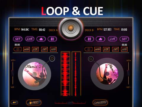 iRemix 2.0 Pro - Portable DJ Music Mixer Remix Tool screenshot 9
