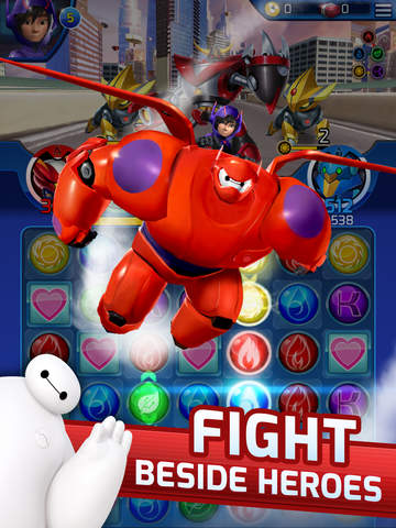 Big Hero 6 Bot Fight screenshot 6