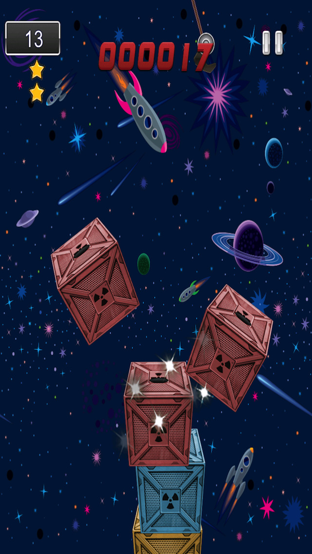 A1 Space Frontier Crane Stacker Game Pro Full Version screenshot 4