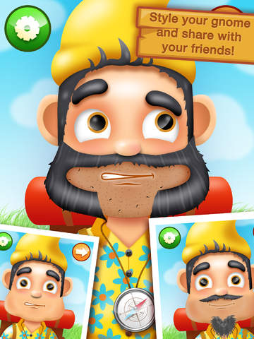 Shaving Crazy Gnomes – A Messy Hairy Shave Makeover ! screenshot 9