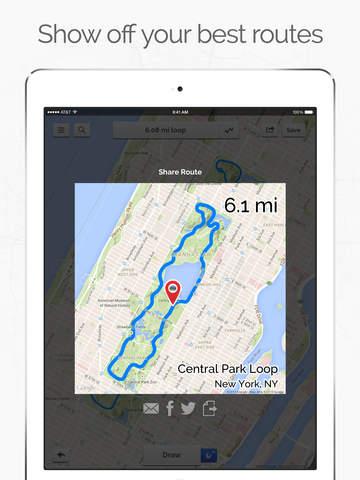 Footpath Route Planner screenshot 10