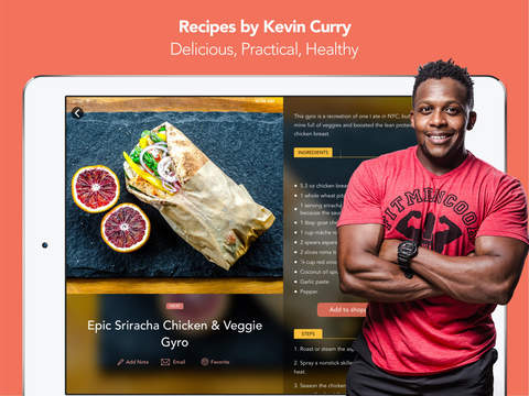 Fit Men Cook - Healthy Recipes screenshot 6