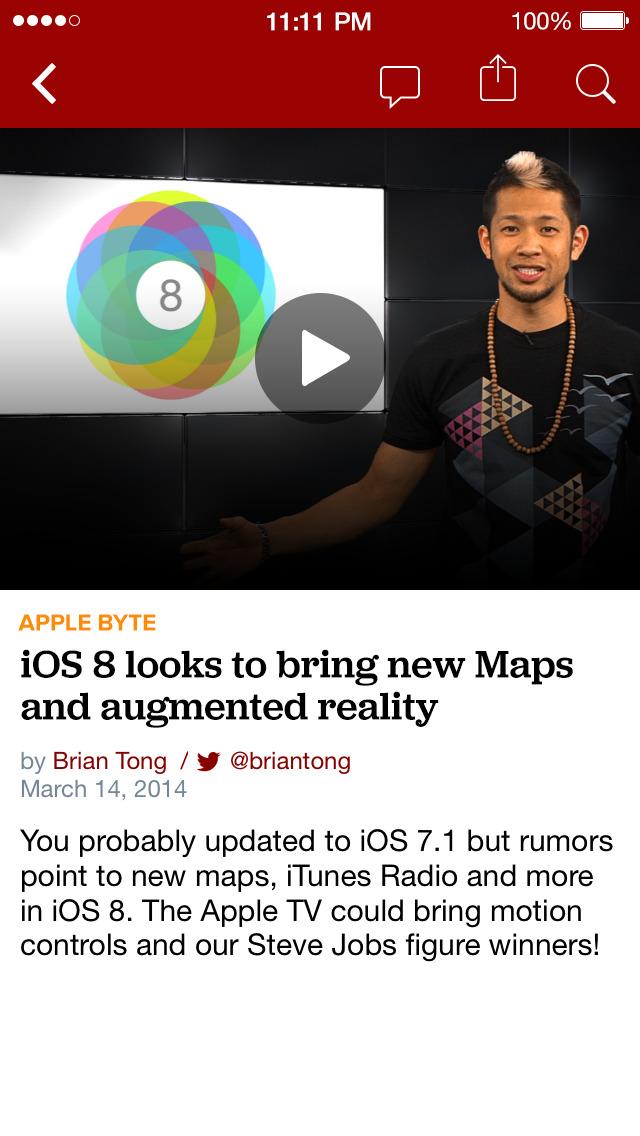 CNET: Best Tech News & Reviews screenshot 4