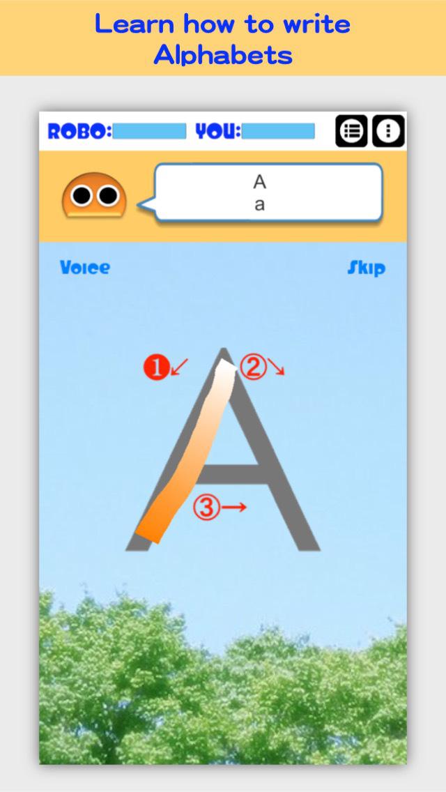 Writing Order FREE Alphabet screenshot 1