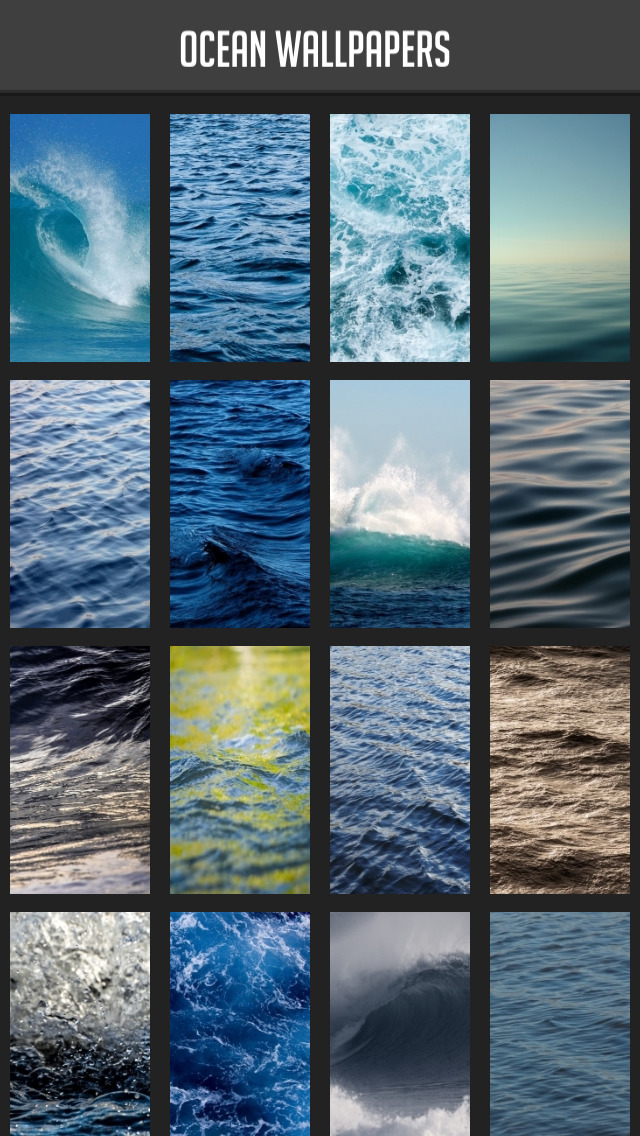 Ocean Wallpapers screenshot 1