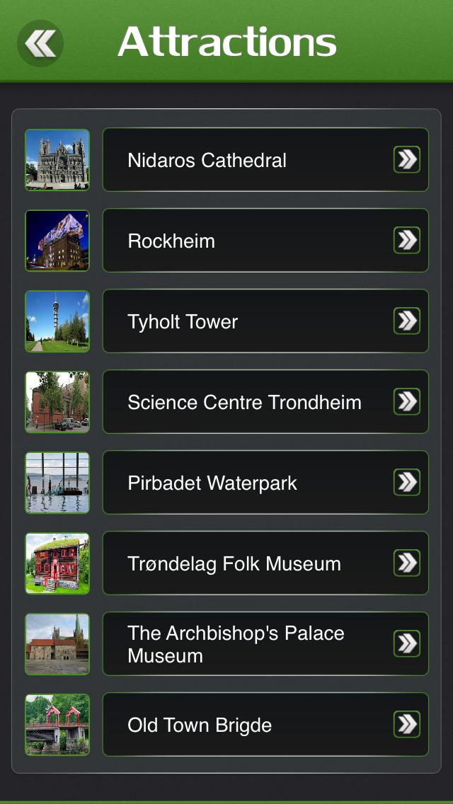 Trondheim Offline Travel Guide screenshot 3