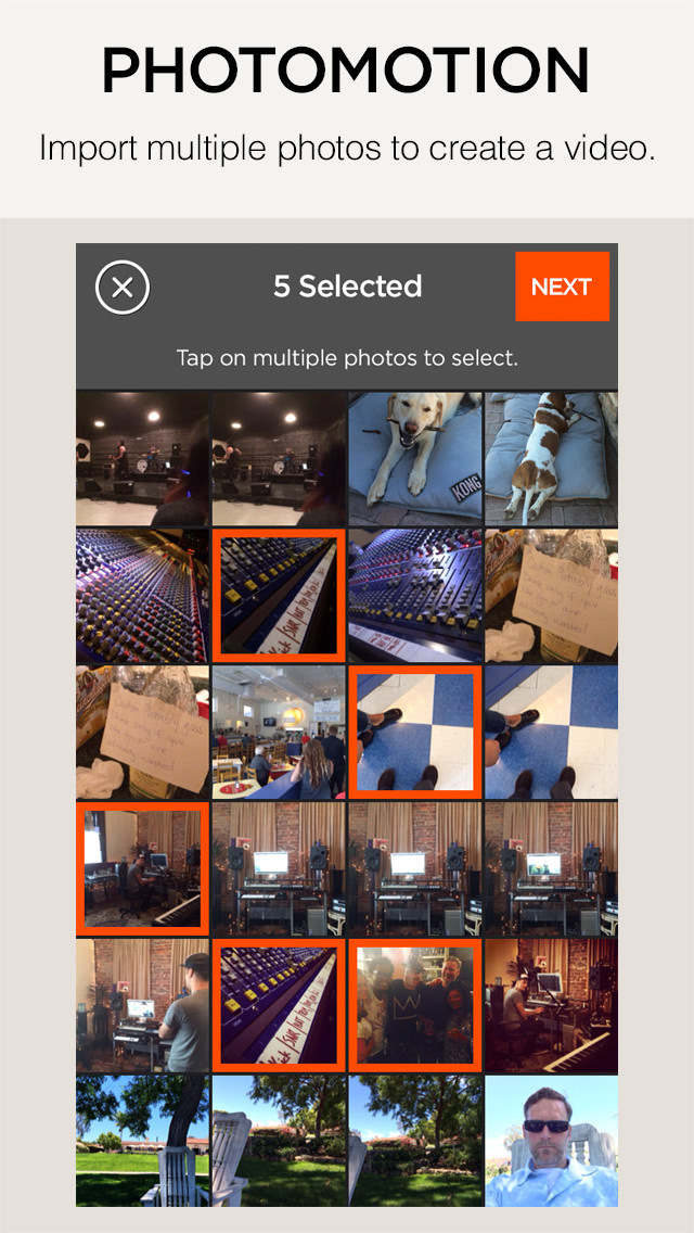 Snapverse – Create Music videos and Selfieoke™ clips. Make movies from your photos. screenshot 2