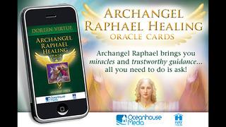 Archangel Raphael Healing Oracle Cards - Doreen Virtue, Ph.D. screenshot 1