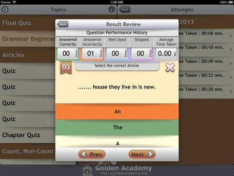 Grammar Expert : English Grammar Beginner screenshot 9