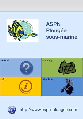 ASPN plongée - náhled