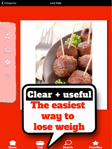 Low Carb Food List - Foods with almost no carbohydrates screenshot 7