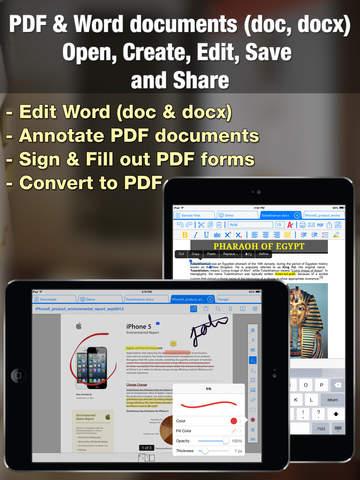 Documents Editor screenshot 4
