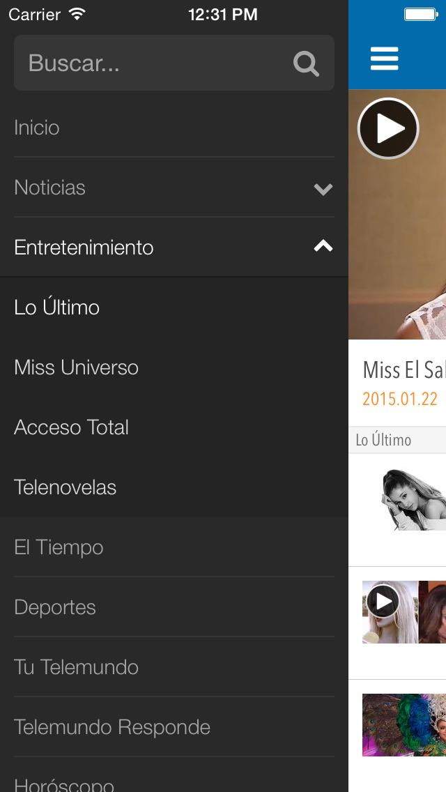 Telemundo Puerto Rico screenshot 4
