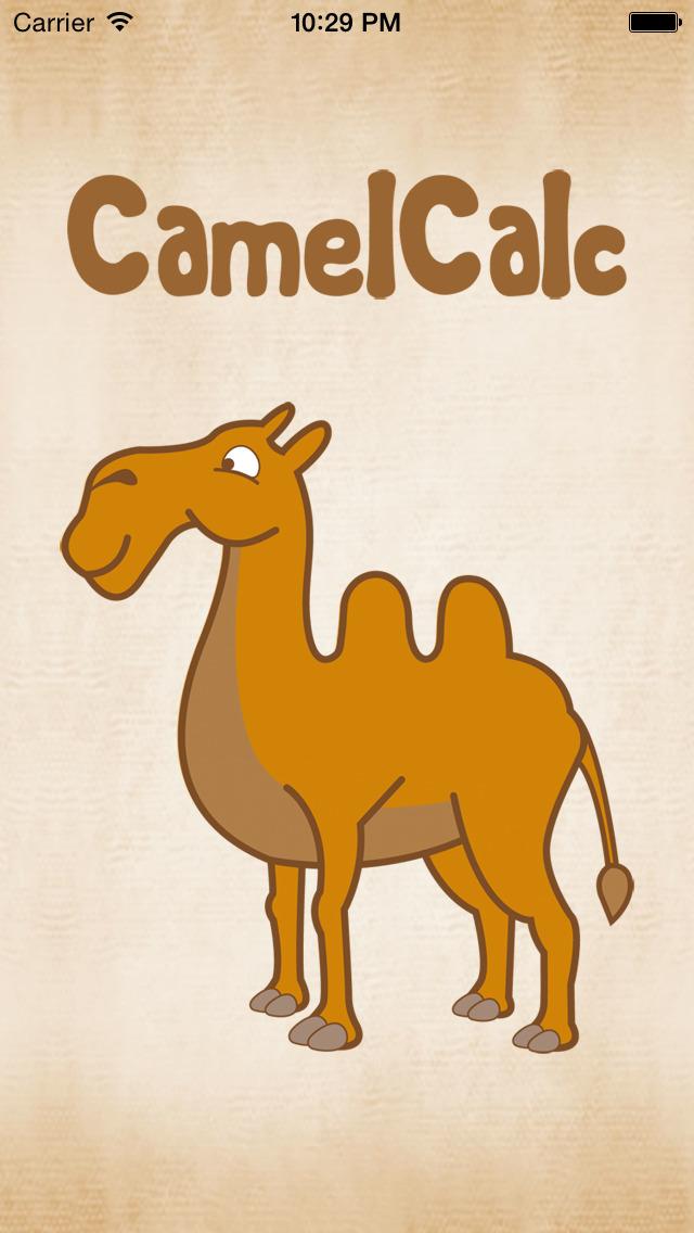 CamelCalc screenshot 1