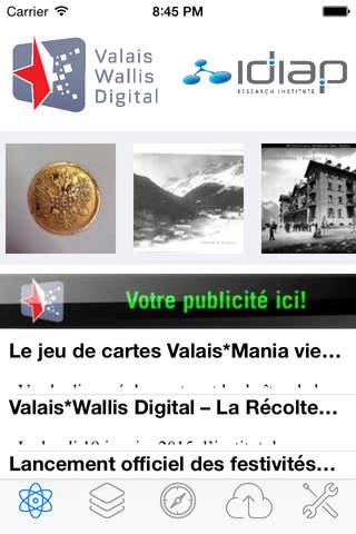 Valais * Wallis Digital - náhled