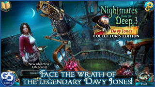 Nightmares from the Deep™: Davy Jones, Collector's Edition screenshot 1