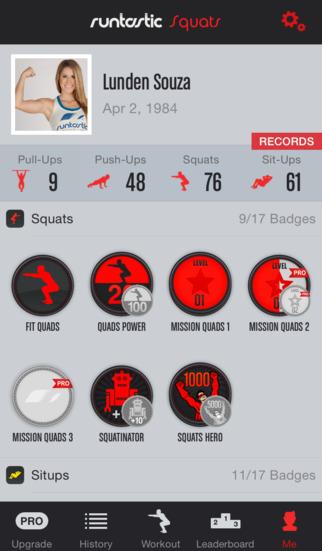 Squats Trainer & Workouts screenshot 5