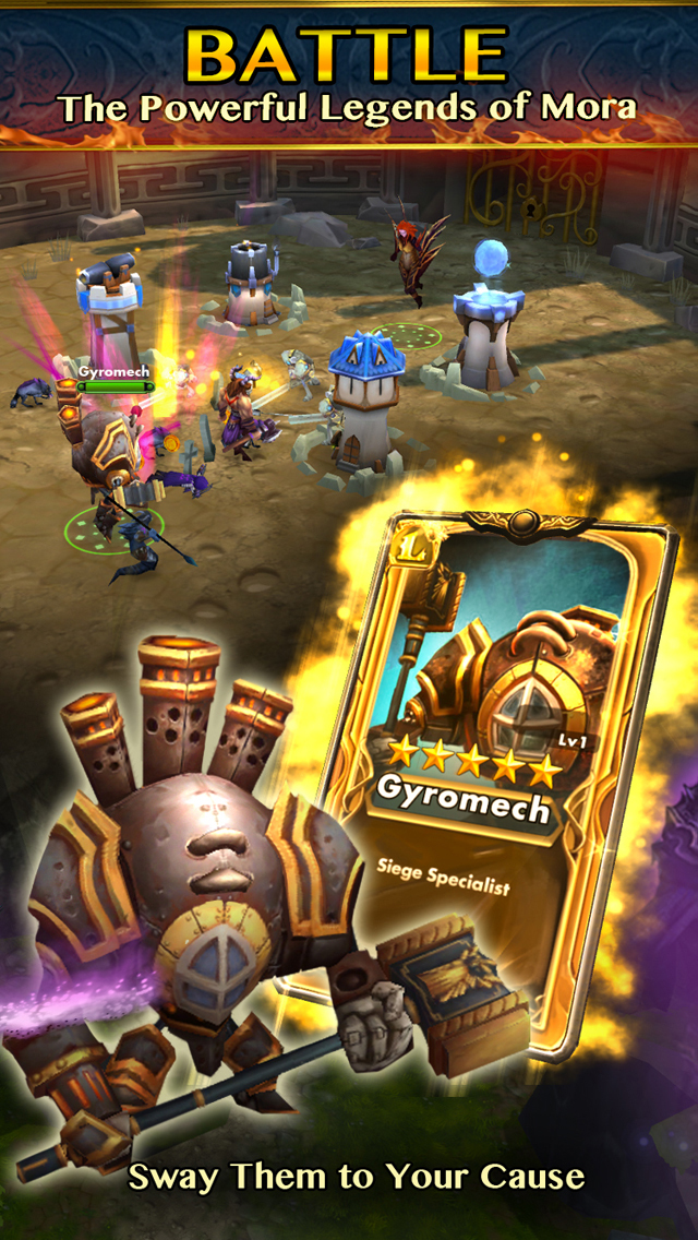 Legend Borne screenshot 4