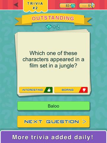 Trivia Quest™ Characters - trivia questions screenshot 7