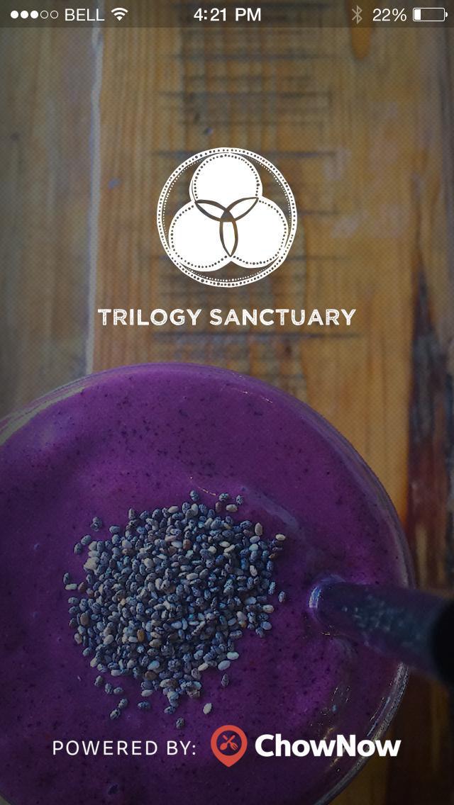 Trilogy Sanctuary Cafe screenshot 1