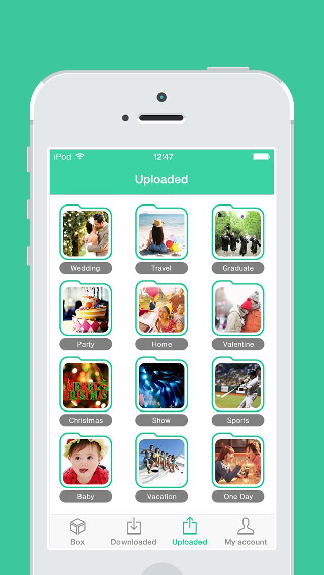 ShareBox - Share your photo with friends! screenshot 2