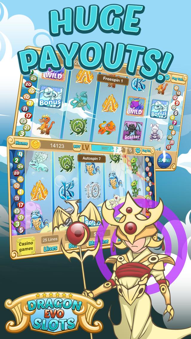 `Dragon Evo Slots PRO - Medieval Casino screenshot 5