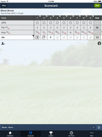 Black Brook GC screenshot 8