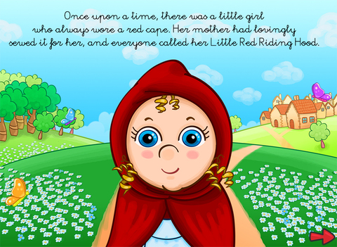 The little red riding hood - Multi-Language book screenshot 6