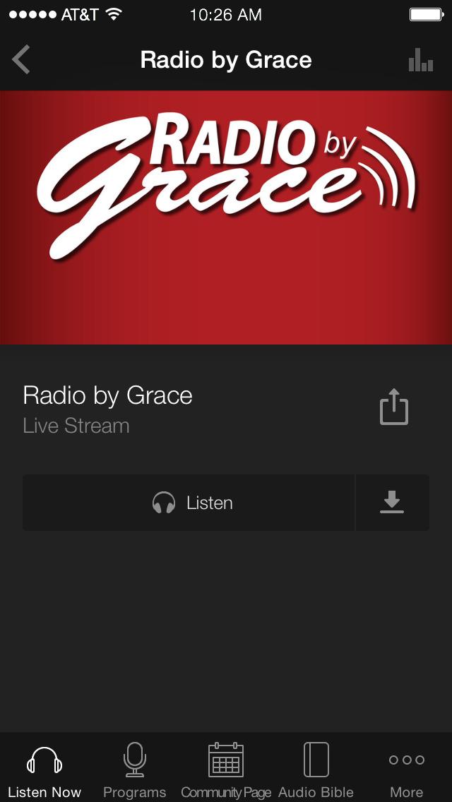 Radio by Grace App screenshot 3