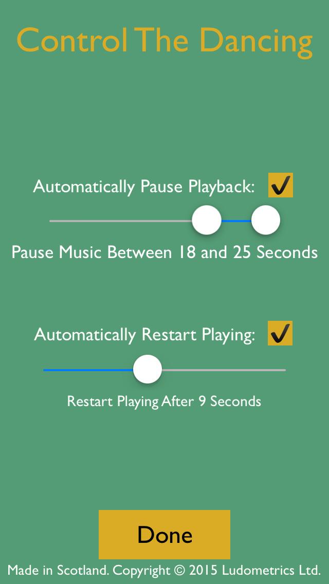 Stop Dancing - The Musical Chairs App screenshot 2