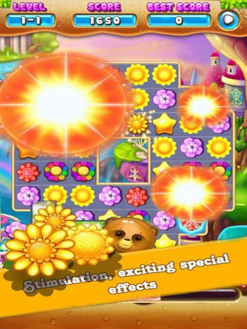 Fantasy Garden Flower: Blosoom Match screenshot 6