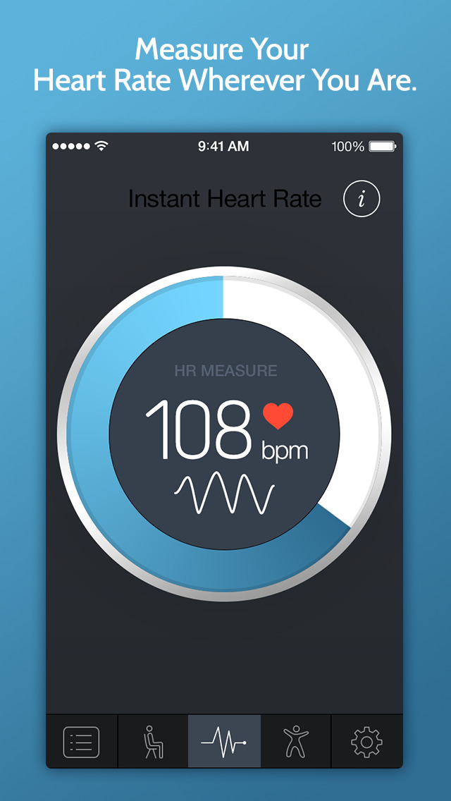 Instant Heart Rate+ HR Monitor screenshot #1