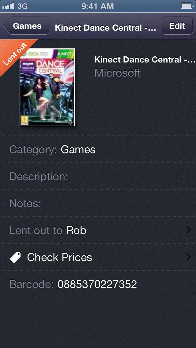 Barcode Library Scan & Catalog screenshot 5
