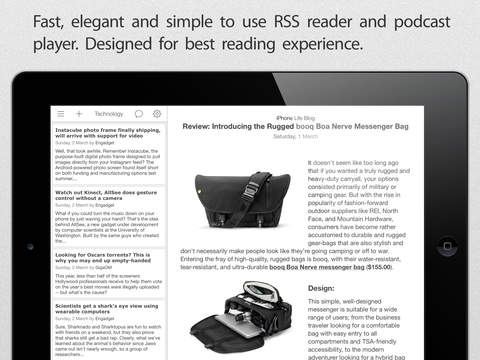 Good News - Fast, Clean and Simple RSS Reader screenshot 6