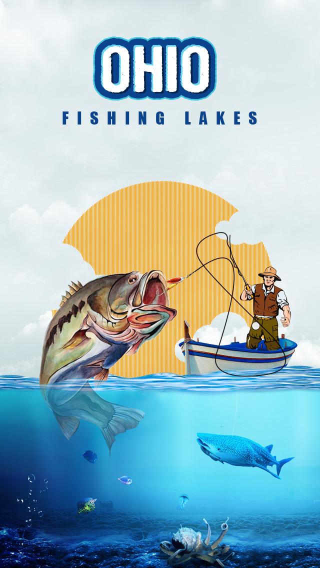 Ohio Fishing Lakes screenshot 1