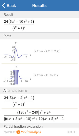 Wolfram Signals & Systems Course Assistant screenshot 2