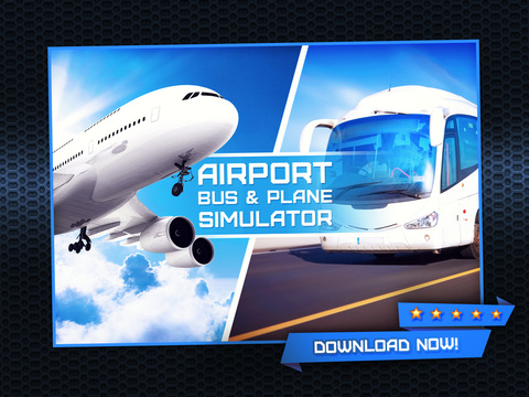 3D Airport Bus and Air-Plane Simulator - Real Driving, Racing & Parking School and Car Test Drive Game screenshot 6