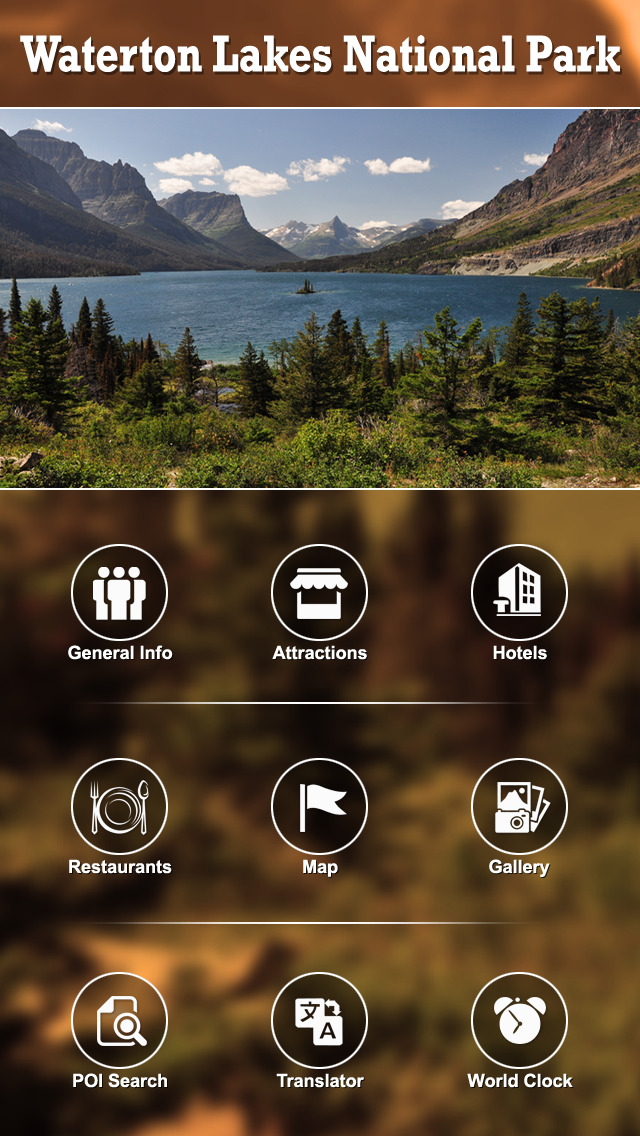 Waterton Lakes National Park screenshot 2