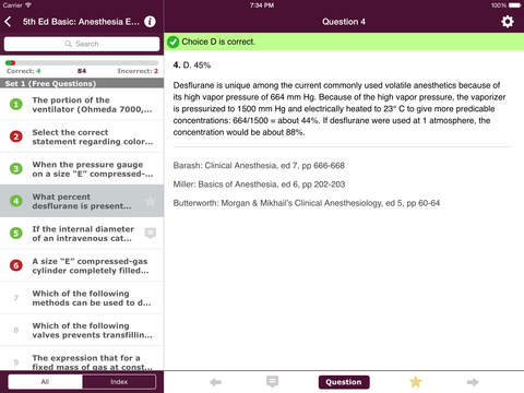 Anesthesia Comprehensive Review screenshot 9