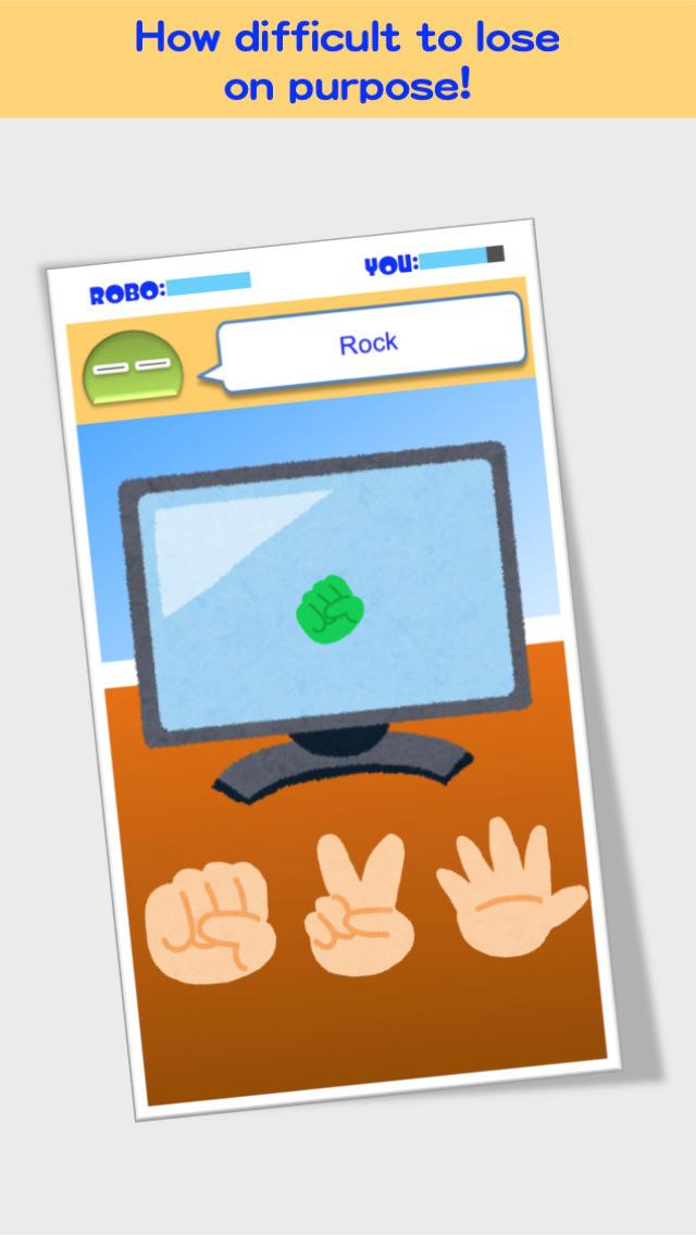 Cheating Rock-Paper-Scissors screenshot 1